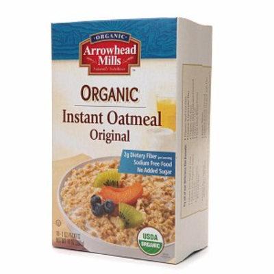 Arrowhead Mills Instant Oatmeal Plain Original Flavor