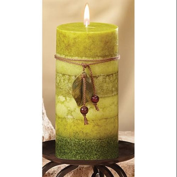Cc Home Furnishings Pack of 4 Naturals Serenity Aromatherapy Scented Pillar Candles 6