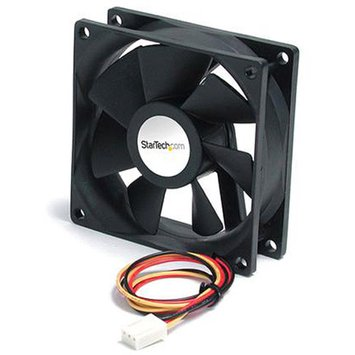 StarTech 60x25mm High Air Flow Dual Ball Bearing Computer Case Fan with TX3
