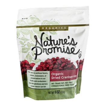 Nature's Promise Organics Organic Dried Cranberries