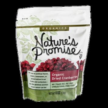 Nature's Promise Organics Organic Dried Cranberries