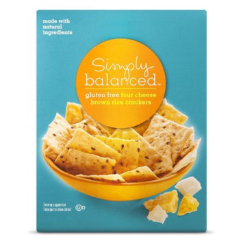 Simply Balanced Rice Crackers-Cheese Multiseed 3.5oz