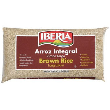 Iberia Foods Corp. Iberia Long Grain Brown Rice, 5 lb