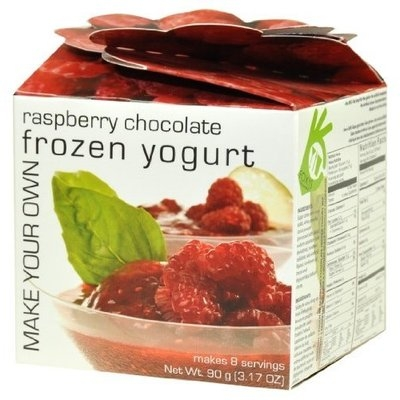 Foxy Gourmet Raspberry Chocolate Frozen Yogurt, 3.2-Ounce Boxes (Pack of 3)
