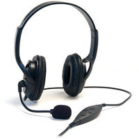 Arsenal Gaming PS3 Wired Dual Headset, Black