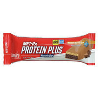 Met-Rx Protein Plus Protein Bar, Peanut Butter Cup, 12 ea