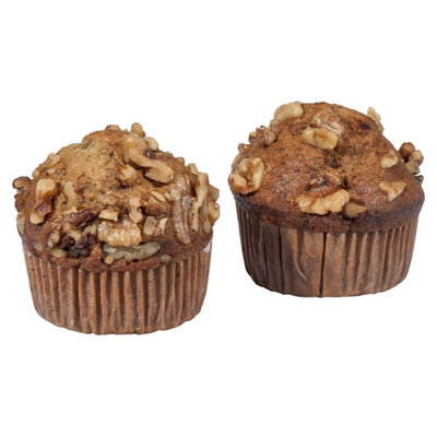 Hot Cakes Bakery Muffins Banana Nut - 2 CT