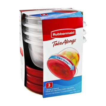Rubbermaid Take Alongs Twist & Seal Liquid Storage - 3 CT