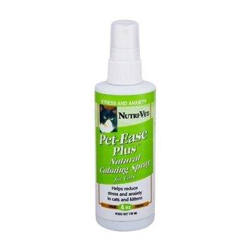 Nutri Vet Nutri-Vet Pet-Ease Natural Calming Spray for Cats, 4 Ounce