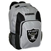 Concept One NFL Oakland Raiders Southpaw Team Color Backpack - School Supplies