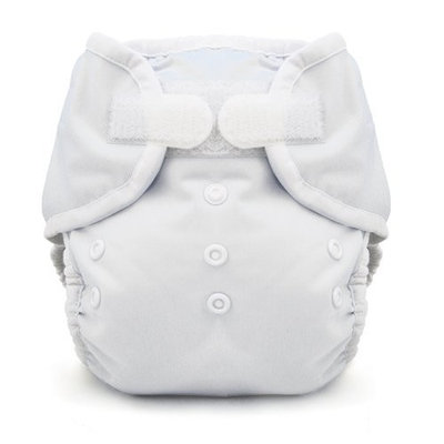 Thirsties Duo Wrap, White, Size Two (18-40 lbs) (Discontinued by Manufacturer)