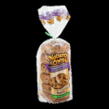 Nature's Own Bagels Cinnamon Raisin - 6 CT