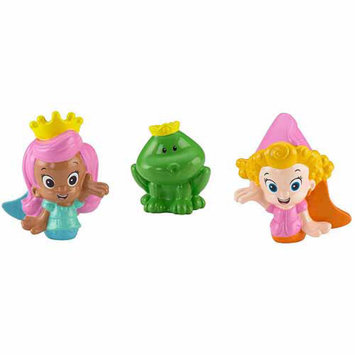 Fisher-Price Bubble Guppies Fairytale Molly, Deema and Frog