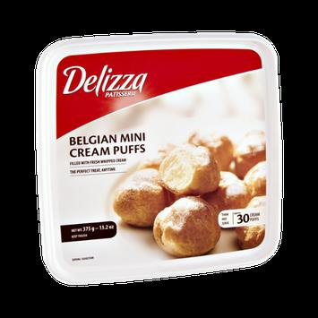 Delizza Patisserie Belgian Mini Cream Puffs- 30 CT