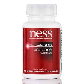 Ness Enzyme's Protease w/Calcium #416 90 vcaps by Ness Enzymes