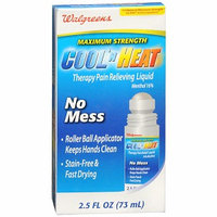Walgreens Cool n Heat Therapy Liquid Pain Relief Maximum Strength