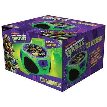 Sakar International Teenage Mutant Ninja Turtles CD Boombox