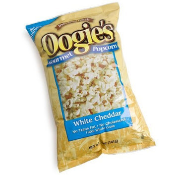 Oogie's Gourmet Popcorn Oogies Gourmet Popcorn White Cheddar Popcorn, 5-Ounce Units (Pack of 15)