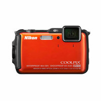 Nikon COOLPIX AW120 Digital Camera with 16 Megapixels and 5x Optical Zoom (Available in multiple colors)