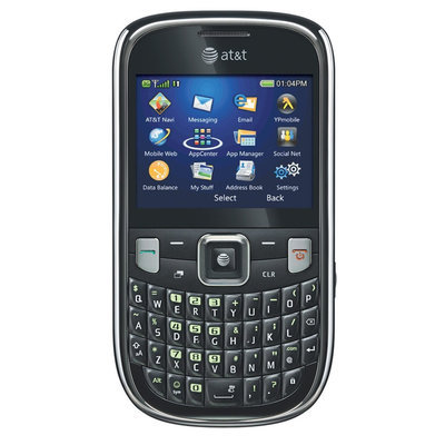 Sentron ZTE Z431 Unlocked GSM QWERTY Cell Phone - Black