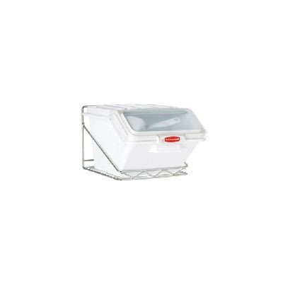 Rubbermaid FG9G8100 CHRM - Safety Wall Mounted Storage Rack, 20 lb. Sh