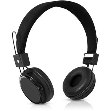 V7 Lightweight Stereo Headset with Adjustable Headband and Microphone, HS2000-35-BLK-9NC