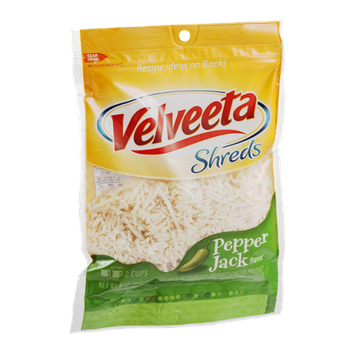 Velveeta Shreds Shredded Cheese Pepper Jack Flavor