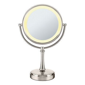 Conair Touch Control 1x/8x Magnification Double Sided Mirror