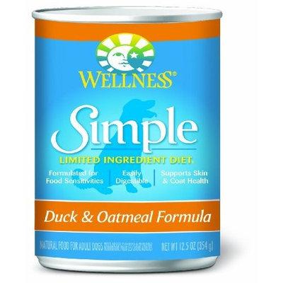 Wellness Simple Duck and Oatmeal Formula, 26-Pound Bag