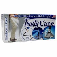 Trusty Cane Folding/Lighted Cane, 1 ea