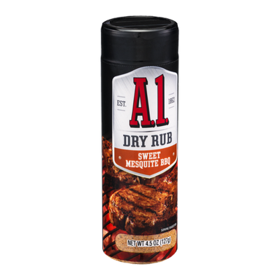 A.1. Dry Rub Sweet Mesquite BBQ