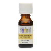 Aura Cacia Aromatherapy Precious Essential Oils Rose Absolute
