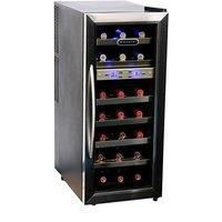 Whynter LLC 21 Bottle Dual Temperature Zone Wine Cooler