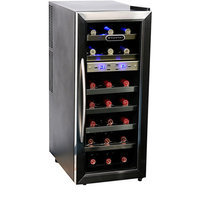 Whynter LLC 21 Bottle Dual Temperature Zone Wine Cooler