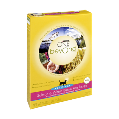 PURINA ONE® Beyond Salmon & Whole Brown Rice Recipe Adult Cat Food