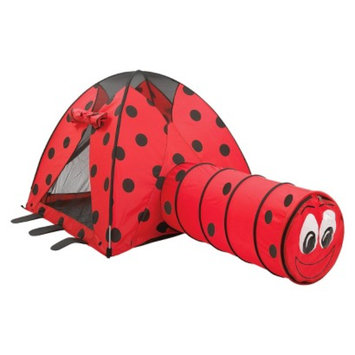 Pacific Playtents PACIFIC PLAY TENTS LadyBug Tent and Tunnel