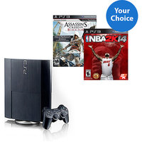 PS3 12GB Console Starter Bundle with Choice of Game