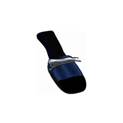 Muttluks Blue Fleece Lined Dog Boots, X-Small