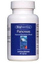 Allergy Research Group, Pancreas Pork Organic Glandular 60 vegetarian capsules