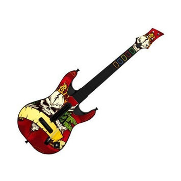 Pacers Decorative Skin fits Guitar Hero 5 for PS2 & PS3 (GUITAR NOT INCLUDED), Item No. GTP0995-2
