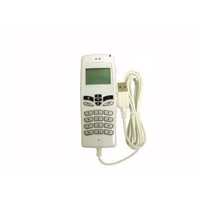 Linxcel UP-111C-AWH USB Skype Phone with Lcd Display