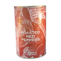 Divina Roasted Red Peppers 5.75#
