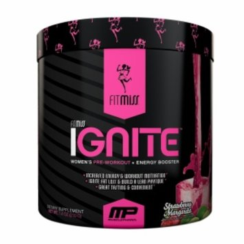 Fitmiss FitMiss Ignite Women's Pre-Workout, Strawberry Margarita, 7.4 oz