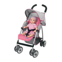Circo Chicco Toy Stroller - Pink/Gray