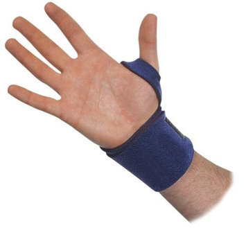Trainers Choice Trainer's Choice Compression Wrist Wrap, Blue, One Size