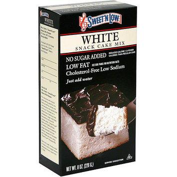 Sweet-n-Low Sweet 'N Low White Cake Mix, 8 oz (Pack of 6)