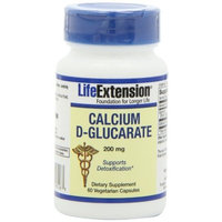 Life Extension Calcium D-glucarate 200 Mg , 60 Capsule