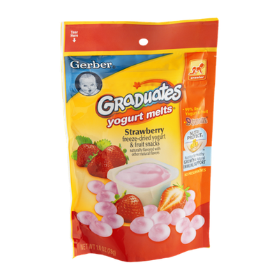 Gerber Graduates Yogurt Melts Strawberry