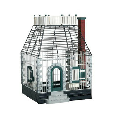 Prevue Pet Products Fetherstone Heights Stone Cottage Bird Cage -