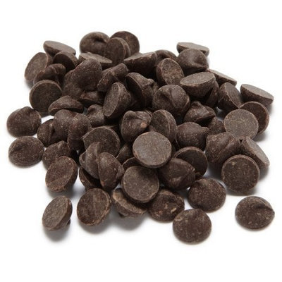 SunSpire Organic Fair Trade 65% Cocao Bittersweet Baking Chips, 25 Pound Box